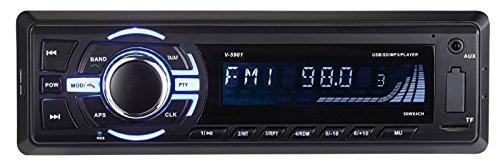 Creasono Radio für Auto, Bluetooth: MP3-Autoradio, Bluetooth, Freisprechfunktion, RDS, 2X USB, SD, 4X 50 W (Car HiFi)