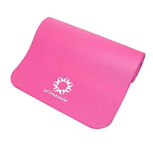 PRIMASOLE Yoga Mat with Carry Case Comfort Exercise Mat for Yoga, Viniyoga, Fintess. Mats for Women & Men. 1/2