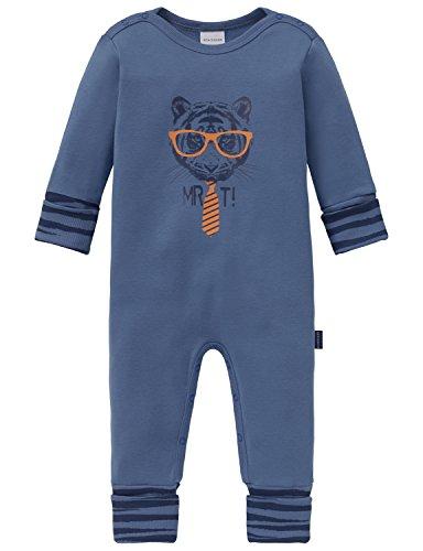Schiesser Unisex Baby Bekleidungsset Anzug mit Vario, Blau (Blau 800), 062
