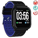 Smart Watch Fitness Tracker Semaco, Waterproof Smart Fitness Watch with Heart Rate Blood