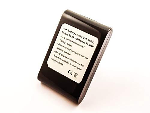 Dyson 917083-07wiederaufladbarer Akku (schwarz)