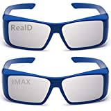AoHeng 3D Glasses for Movies/Theater/Cinema/Passive 3D TV(RealD and IMAX)2Pack