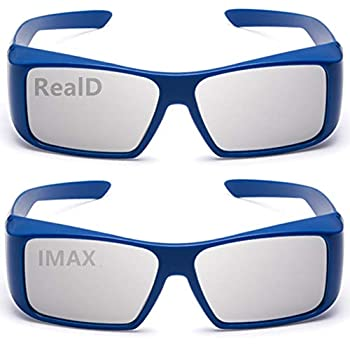 AoHeng 3D Glasses for Movies/Theater/Cinema/Passive 3D TV RealD and IMAX 2Pack