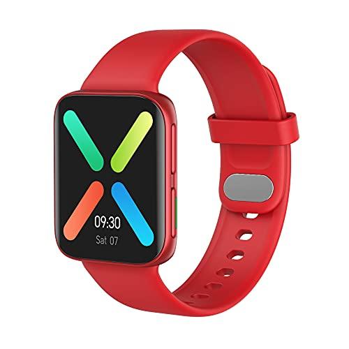 Jiudong 2021 Nuevo reloj inteligente de pantalla flexible hiperboloide - frecuencia cardíaca presión arterial monitoreo de oxígeno en sangre pulsera de llamada Bluetooth impermeable reloj deportivo