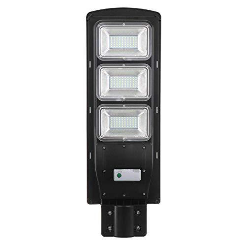 CLJ-LJ Luces solares de alto gusto, LED de 90 W Solar de la calle de la luz del radar de inducción PIR movimiento al aire libre lámpara de jardín