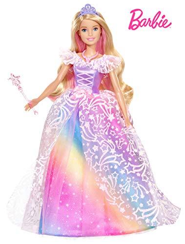 Barbie Dreamtopia Principessa Gran Galà, Bambola con Accessori,...