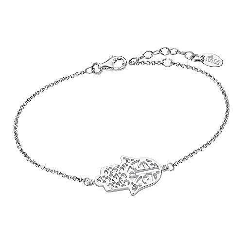 Pulsera Lotus Silver Hand der Fátima LP1849-2/2 de plata de ley 925 JLP1849-2-2
