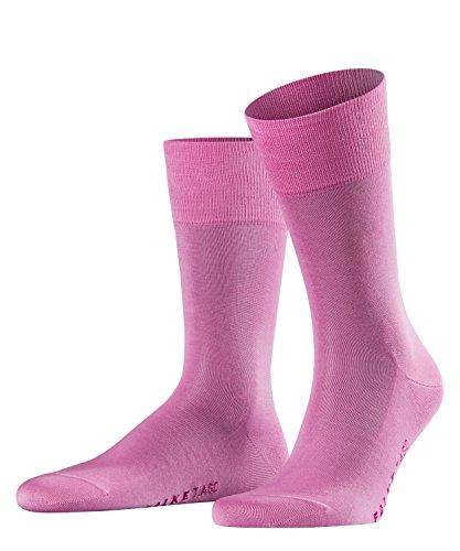 FALKE Herren Socken Tiago - 95prozent Baumwolle, 1 Paar, Rosa (Peony 8042), Größe: 43-44