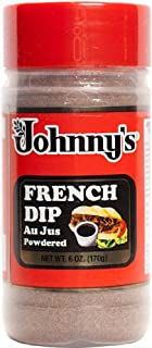 Johnny's French Dip Au Jus Powdered 6oz Bottle (Pack of 3)