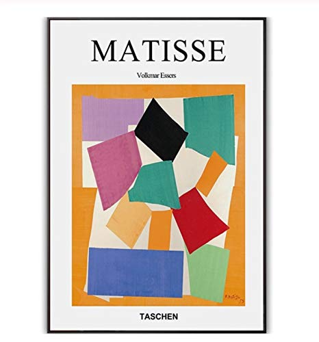 DAQIANSHIJIE Henri Matisse Famoso Pintor Obras Resumen Poster Réplica Mural Imagen Sala Pasillo Lienzo Pintura al óleo Decoración del hogar 40X60Cm Sin Marco