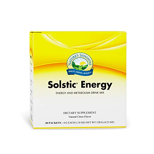 Nature's Sunshine Solstic Energy 30 Packets
