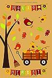 Hallo Herbst Notizbuch: Buntes A5 Herbstgarten-Merkheft mit Kürbissen, zum Malen, Zeichnen, Kritzeln für Kinder ab 5. Zum Notieren für Lehrer, Erzieher und Eltern zum Erntedank. Mit Punktraster.