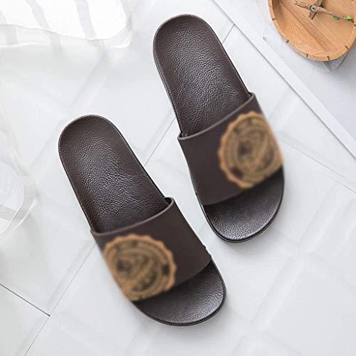 TQJ Apatillas de Baño Antideslizantes Zapatillas De Baño Sandalias para Adultos Unisex, De Verano, Baño Interior Baño De Baño Sandalias Caseras Sandalias De Ducha Sandalias (Size : 44)