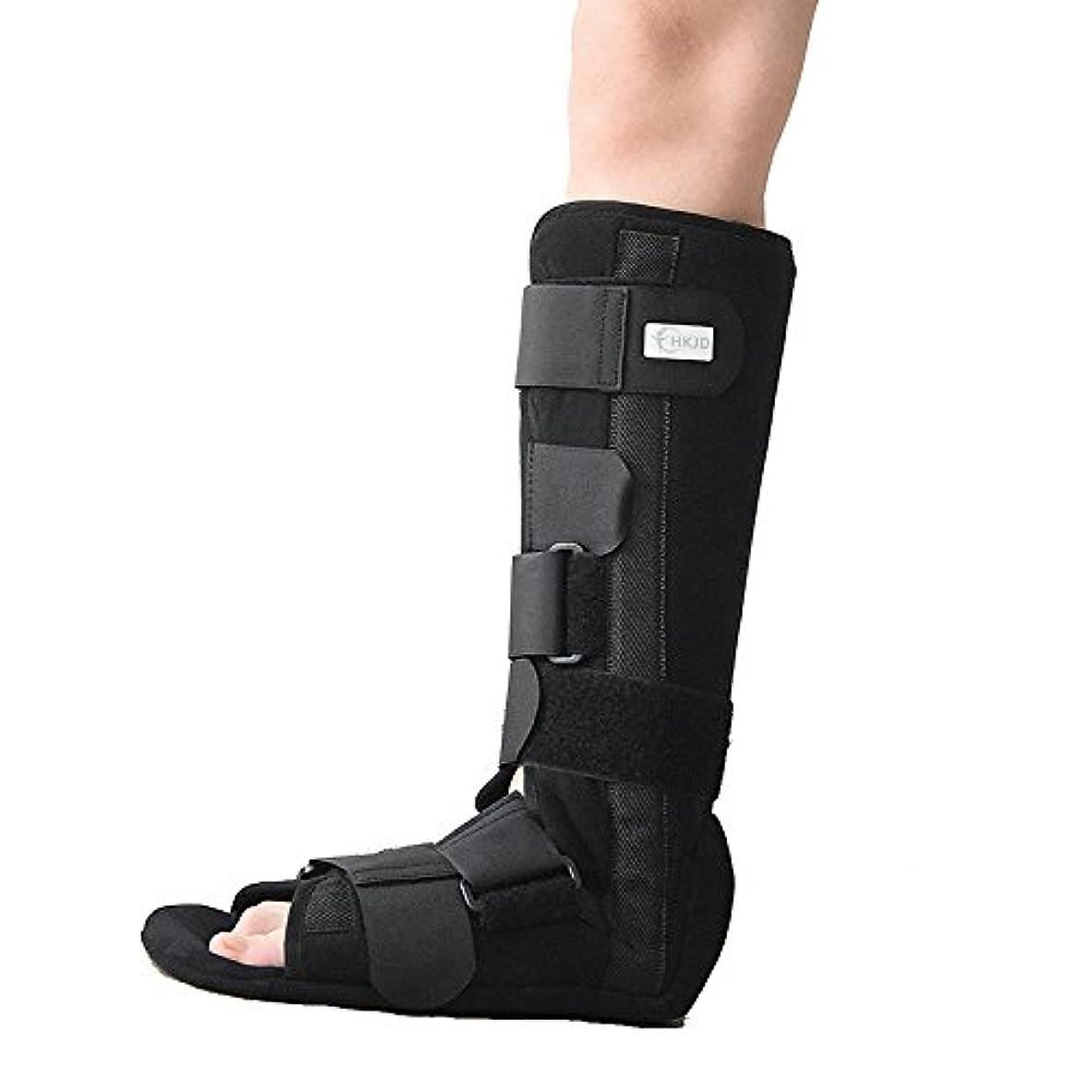 更新複雑な見える足首骨折リハビリ固定足首膝ライナー歩行者ウォーカーブーツ足首足矯正