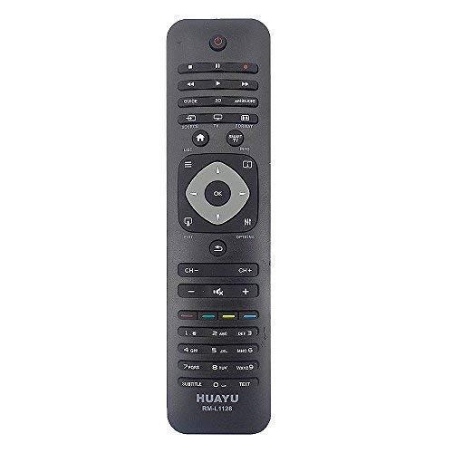 RPS universele afstandsbediening voor Philips TV-toestellen, zwart