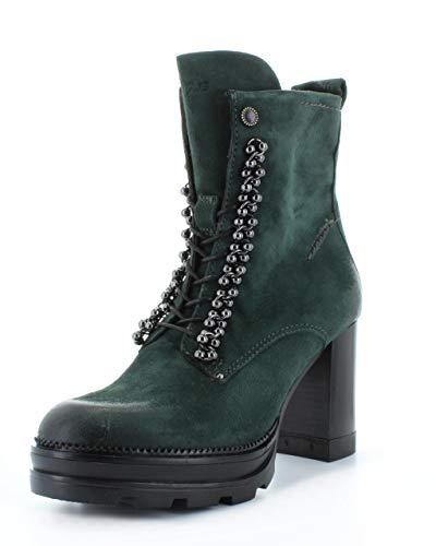 Mjus Amaranta Stiefelletten/Boots Damen Grün - 38 - Low Boots Shoes