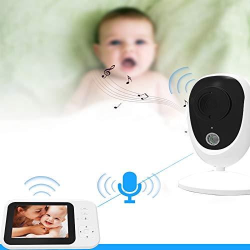 MN1 Baby-Monitor, 3,5-Zoll-HD-LCD-Bildschirm, Zweiwegwechselsprechanlagefunktion, Unterstützung Data...