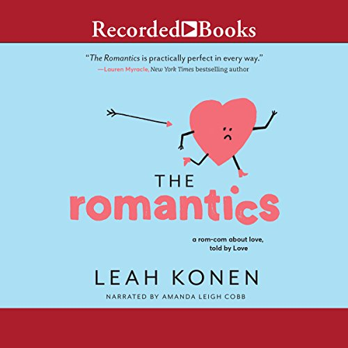 The Romantics audiobook cover art
