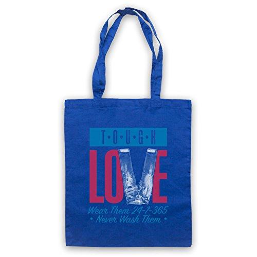 My Icon Art & Clothing Tough Love Denim Jeans Umhangetaschen, Blau