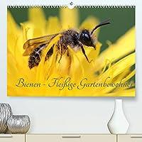 Bienen - Fleissige Gartenbewohner (Premium, hochwertiger DIN A2 Wandkalender 2022, Kunstdruck in Hochglanz): Faszinierende Nahaufnahmen der kleinen Nuetzlinge (Monatskalender, 14 Seiten )