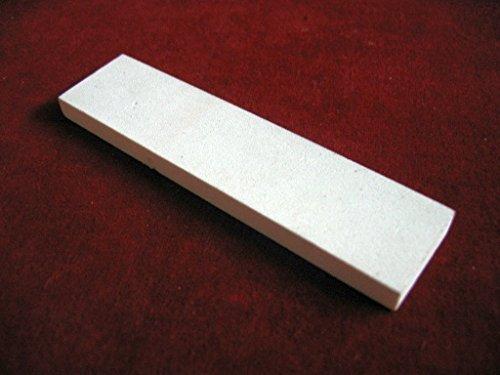 "Raise Products Dental Instrument Flat Arkansas Sharpening Stone (4"" x 1"" x 0.25"") | Fine Grit | Dentist Tool Sharpening | Sterile | Portable"