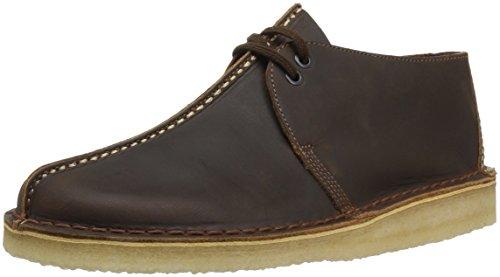 Clarks Men's Desert Trek Shoe, beeswax leather, 9.5 Medium US