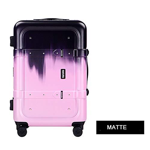 GFYL Hoge capaciteit Bagage koffer, ABS+PC koffer met 360 ° mute universeel wiel, Anti-Scratch mode Travel Trolley Cas met TSA Lock
