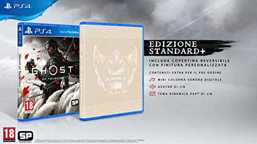 Ghost Of Tsushima - Standard+ [Esclusiva Amazon] - Playstation 4