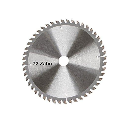 Scheppach 7901800602 zaagblad, geschikt voor de invalzaag PL75, massief hout, laminaat en kunststof, diameter 210 x 30 mm/72 Z