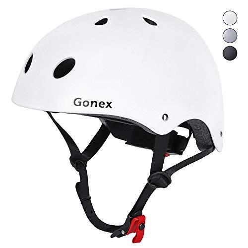 Gonex Skaterhelm einstellbar Helm Fahrradhelm Kinder Erwachsen 11 Belüftungsöffnungen CE-zertifiziertes Skaten Radfahren Helmet Skateboarden Inlineskaten Longboard Schutzausrüstung