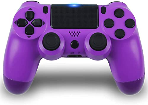 PS-4 Controller,Wireless Game Controller for PS-4, PS-4 Remote Game Controller,Compitable with PS-4 Console Windows10 /8/7/XP, PC Laptop MAC, Android,iOS13, Phone with USB Cable