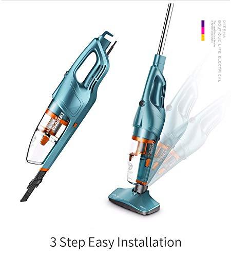 Review Of MAMINGBO Vertical Vacuum Cleaner Wireless Manual Vacuum Cleaner Household Bass Vacuum Clea...