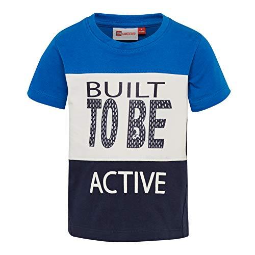 Lego Wear Duplo Boy Terrence 321-T-shirt T-Shirt, Multicolore (Blue 563), 92 Bébé garçon