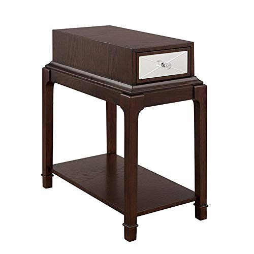 N/Z Daily Equipment End Tables Couch Table Wood Side Tables Cabinet Sofa Small Coffee Table Bedside Snack Table Living Room Bedroom Furniture