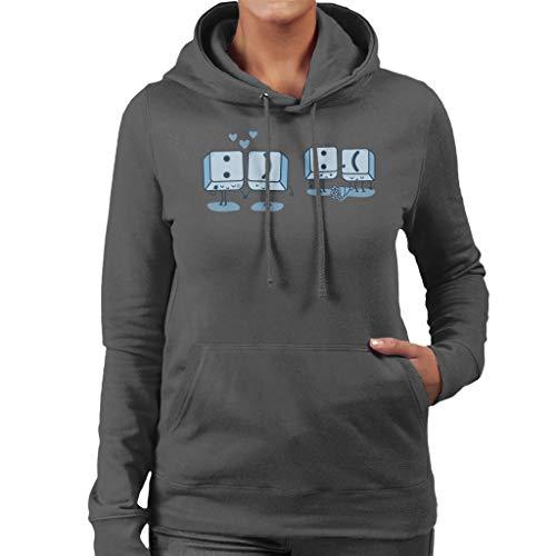 Toetsenbord Keys Emoji Vrouwen Hooded Sweatshirt