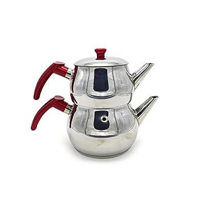 Stainless Steel Turkish Tea Pot Size No:2