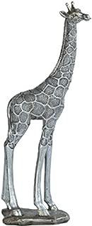 StealStreet SS-G-54299 Silver Colored Giraffe Figurine, 14.25