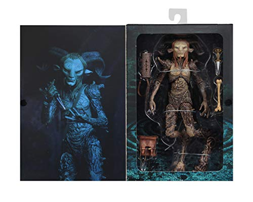 NECA-El Laberinto Figura Signature Collection Fauno, Multicolor (NECA33153) 4