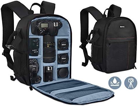 Yesker Camera Backpack Professional DSLR SLR Camera Bag Waterproof Shockproof Camera Case Compatible product image