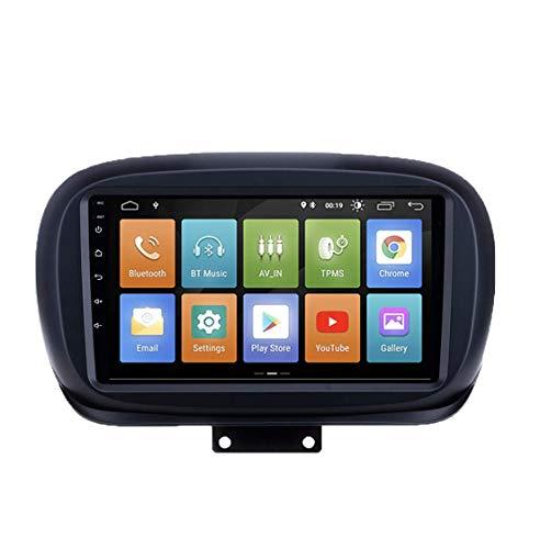 ESTOCK1 Fiat 500X ANDROID 10.0 2din 9pollici 2 GB di RAM 16 DI ROM 4 CORE Car Tablet 500 X Radio Multimedia Wi-Fi GPS Radio stereo mp3