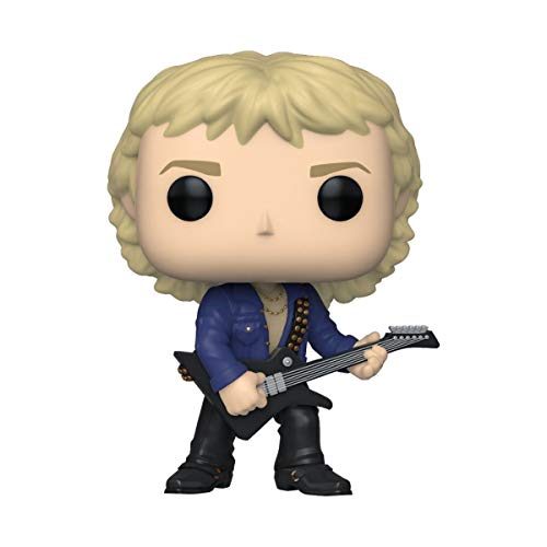 Funko- Pop Rocks-Def Leppard-Phil Collen Collectible Toy, Multicolor (40132)