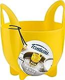 Trudeau Pochador de huevos individual, de silicona, para ollas y microondas. Asas anchas para manipular fácilmente. Medidas 8.5 x 8 x 9cm. Apto para lavavajillas. Sin BPA (BPA-Free)