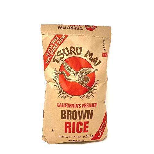 Tsuru Mai Premier Brown Rice Gluten Free, 15 lbs