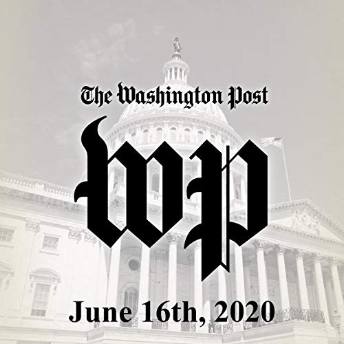 June 16, 2020 audiobook cover art