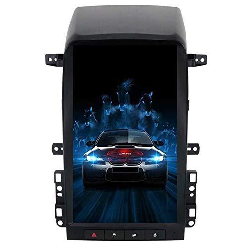 Autoradio SAT NAV per Chevrolet Captiva 2008-2012,13.6 `` Android 9.0 Verticale IPS Touch Screen PX6 DSP GPS per Auto unità Principale Radio