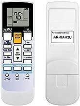 RCECAOSHAN Replacement for Fujitsu Air Conditioner Remote Control Model Number AR-RAH2U Works for ASU18RLF ASU18RLXS ASU24RLF ASU24RLXS ASU30RLX AUU12RLF AUU18RLF AUU9RLF