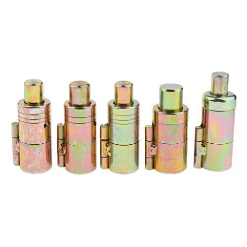 XHUENG Nützlich Edelstahl-Wellrohr Knurled Flach Mund Wave-Faltenbalg-Hersteller-Werkzeug, 1/8 Zoll 1/2 Zoll 3/4 Zoll 1 Zoll (Size : 25mm)