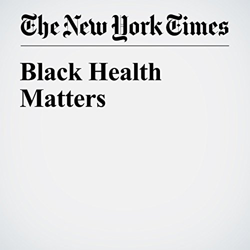 Black Health Matters audiobook cover art