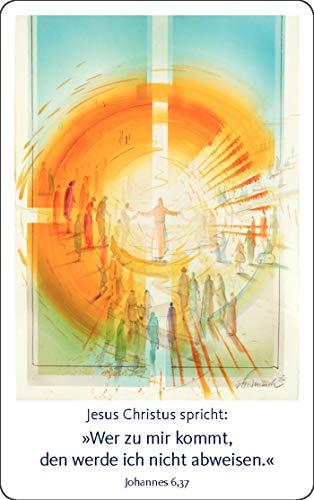 Jahreslosung Münch 2022 - Kalender im Scheckkartenformat (10er-Set) (Edition Eberhard Münch)
