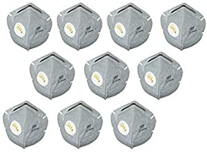 SHOPERIYA N Multi colour +95 Filter Face Mask, Reusable, Washable CE & ISO Certified to Protect Mouth Droplets, Dust and Pollution, GREY PACK OF 20